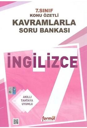 Formül Yayınları 7. Sınıf İngilizce Konu Özetli Kavramlarla Soru Bankası