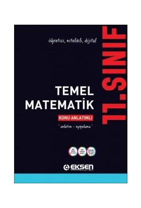Eksen Yayınları 11. Sınıf Temel Matematik Konu Anlatımlı