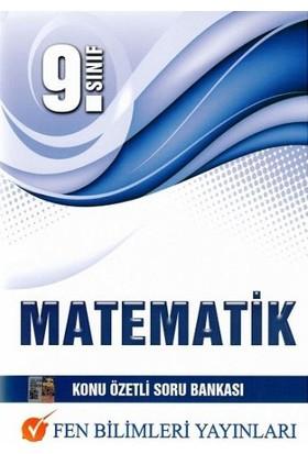 Fen Bilimleri Yayınları 9. Sınıf Matematik Soru Bankası