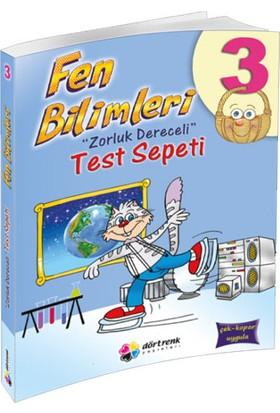 Dörtrenk Yayınları 3. Sınıf Fen Bilimleri Test Kitabı