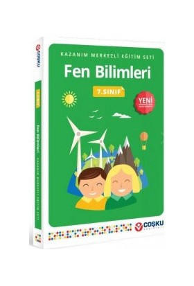 Coşku Yayınları 7. Sınıf Kames Fen Bilimleri 2015