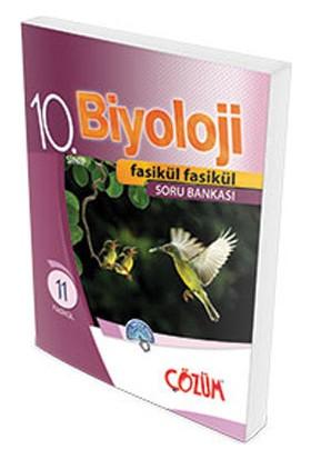 Çözüm Yayınları 10. Sınıf Biyoloji Fasikül Soru Bankası