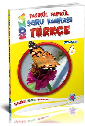 Koza Yayınları 6. Sınıf Türkçe Fasikül Fasikül Soru Bankası