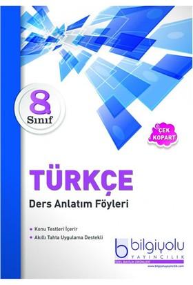 Bilgi Yolu Yayınları 8. Sınıf Türkçe Daf