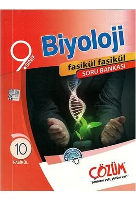 Çözüm Yayınları 9. Sınıf Biyoloji Fasikül Soru Bankası