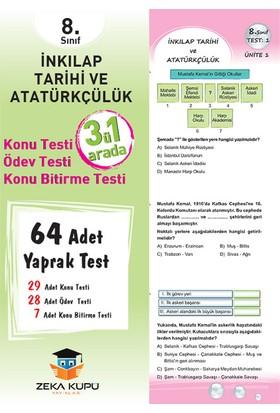 Zeka Küpü Yayınları 8. Sınıf İnkilap Tarihi ve Atatürkçülük Yaprak Test