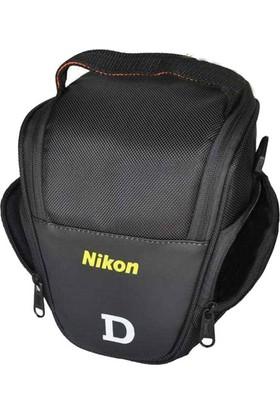 Nikon DSLR Fotoğraf Makinesi SaRa Üçgen Çanta