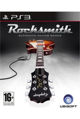 Rocksmith Authentic Guitar Game Ps3