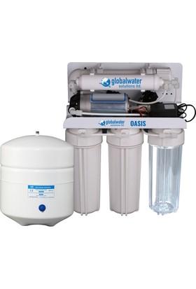 Global Water Solutions İçme Suyu Arıtma Cihazı 5 Aşamalı 75 Galon Kapasiteli +Depo Tankı