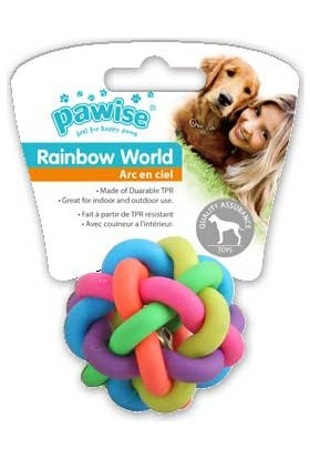 Pawıse Raınbow World Örgü Top Ø 6,5 Cm