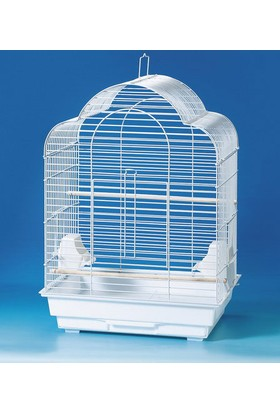 Qh Pet Cage Papağan Kafesi Karışık Renkli (46.5 X 36 X 65)