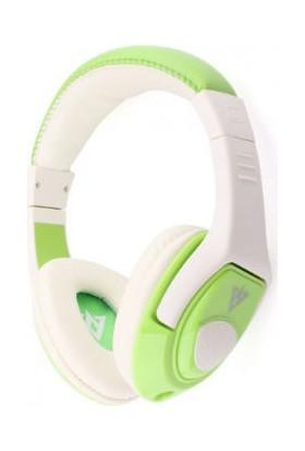 TveT Vykon MQ44 Mikrofonlu Kulaklık 3.5mm - Yeşil Beyaz