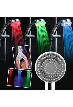 Isıya Duyarlı 3 Renk Değiştiren Duş Başlığı