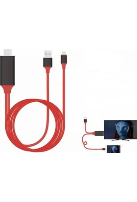 Tg Apple iPhone iPad Lightning Girişli Hdmı Kablo