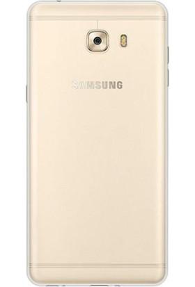 Tg Samsung Galaxy C9 Pro Silikon Kılıf