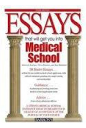 Essays That Will Get You Into Medical School:3Rd Edition