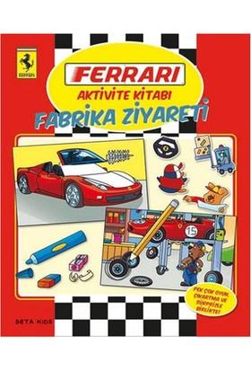 Ferrari Aktivite Kitabı Fabrika Ziyareti