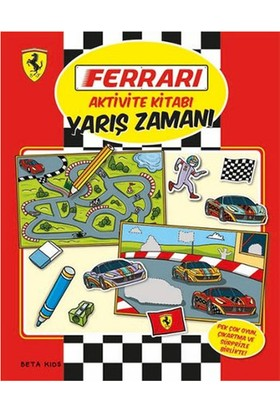 Ferrari Aktivite Kitabı Yarış Zamanı