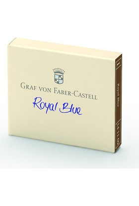 Graf Von Faber-Castell Kartuş Royal Mavi 141109