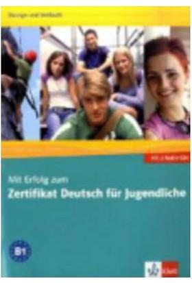 Mit Erfolg Zum Zertifıkat D. F.Jugendliche Uebungs- Und Testbuch Mit Audio-Cd