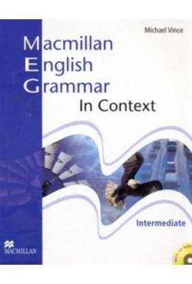 Macmillan English Grammar İn Context Students Book