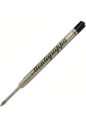 Montegrappa Tükenmez Kalem Yedeği Siyah Ia00Bmtc