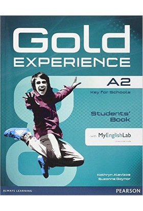 Gold Experience A2 Sb With Dvd Rom Mylab Pack