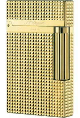 S.T. Dupont Ligne 2 Diamond Head Gold Lighter Çakmak 16284