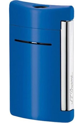 S.T. Dupont Minijet Lighter Torch Flame Cyan Blue 10038