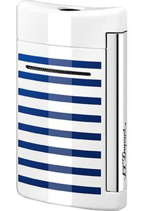 S.T. Dupont Minijet Chrome Finishes White Çakmak 010106