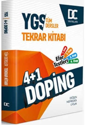 YGS 4 + 1 Doping Tüm Dersler Tekrar Kitabı Doğru Cevap Yayınları