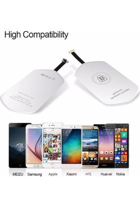 Baseus Fth Qı Wireless Şarj Alıcısı Micro Usb
