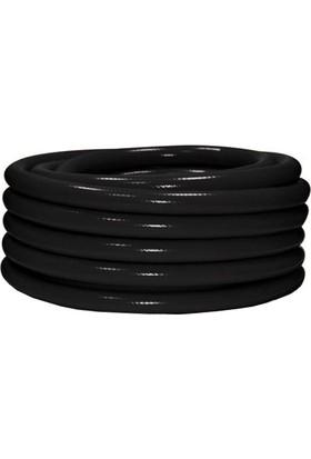 Horeks Yarı Sert Makara Hortumu Siyah 20 mt (1''- 25 mm)
