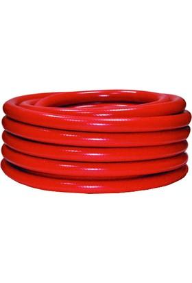 Horeks Yarı Sert Makara Hortumu Kırmızı 20 mt (1''- 25 mm)
