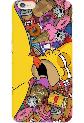 Kapakolur iPhone 7 Simpsons Kapak Kılıf + Koruyucu Cam
