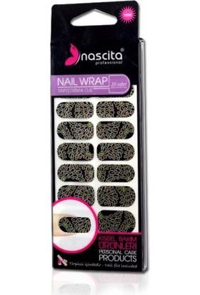 Nascita Black Nail Wrap