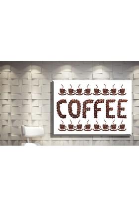 Pia Hediyelik Kanvas Tablo Coffee