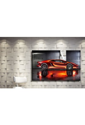 Pia Hediyelik Kanvas Tablo Ferrari Model