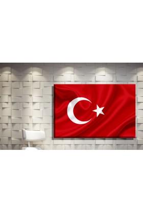 Pia Hediyelik Kanvas Tablo Türk Bayrağı
