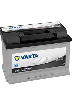 Varta 12V 72 Ah 640A Varta Akü Black Dynamic E13 (2016 Üretim)