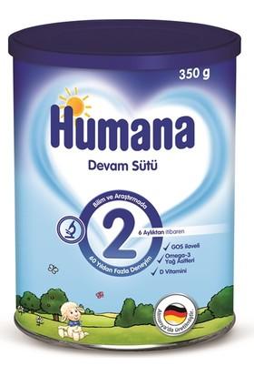 Humana 2 Metal Kutulu Devam Sütü 350 gr
