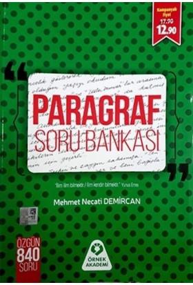 Örnek Akademi Yayınları Paragraf Soru Bankası - Mehmet Necati Demircan