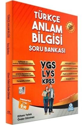 Örnek Akademi Yayınları Ygs-Lys-Kpss Türkçe Anlam Bilgisi Soru Bankası - Ethem Tefek