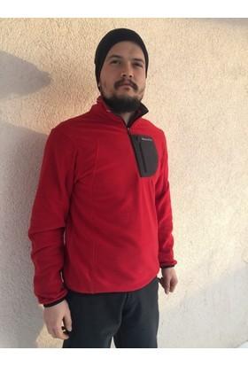 Craghoppers Yasu Mıcro Fleece Kırmızı/Siyah Erkek Polar