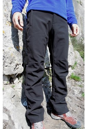 Hıgh Mountaın Alpin Softshell Siyah Pantolon