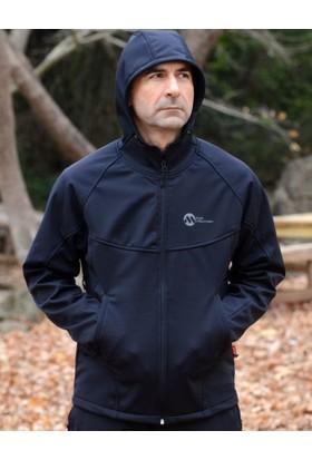 Hıgh Mountaın Fujı Kapşonlu Softshell Siyah Ceket