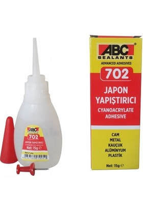 Abc 702 Japon Yapıştırıcı (20 Gr)