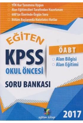 Eğiten Kitap Kpss Öabt Okul Öncesi Soru Bankası