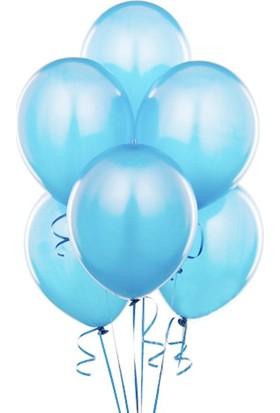 Partioutlet Mavi Metalik Balon