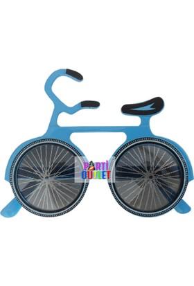 Partioutlet Gözlük Bisikletli Mavi